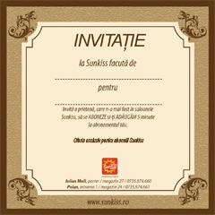 Invitatie la solar