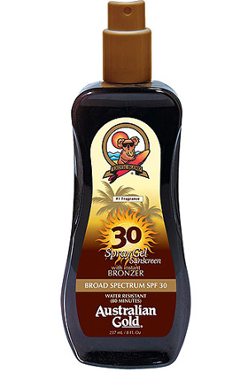 Spray Gel SPF 30 with Bronzer